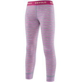 Devold Kids Breeze Long Johns Peonystripes